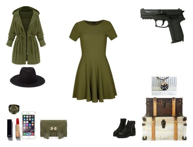 agent women by mayleneholm on Polyvore featuring Ally Fashion, Diane Von Furstenberg, G-Shock, Simmons, Forever 21, Agent 18 and Chanel