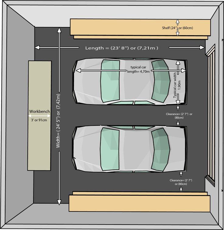 Garage Doors Widths Double Car