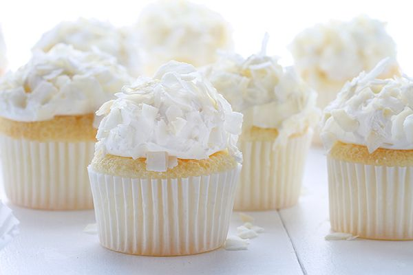 Coconut Angel Food Cupcakes | Recipe | Cheesecake cupcakes ...