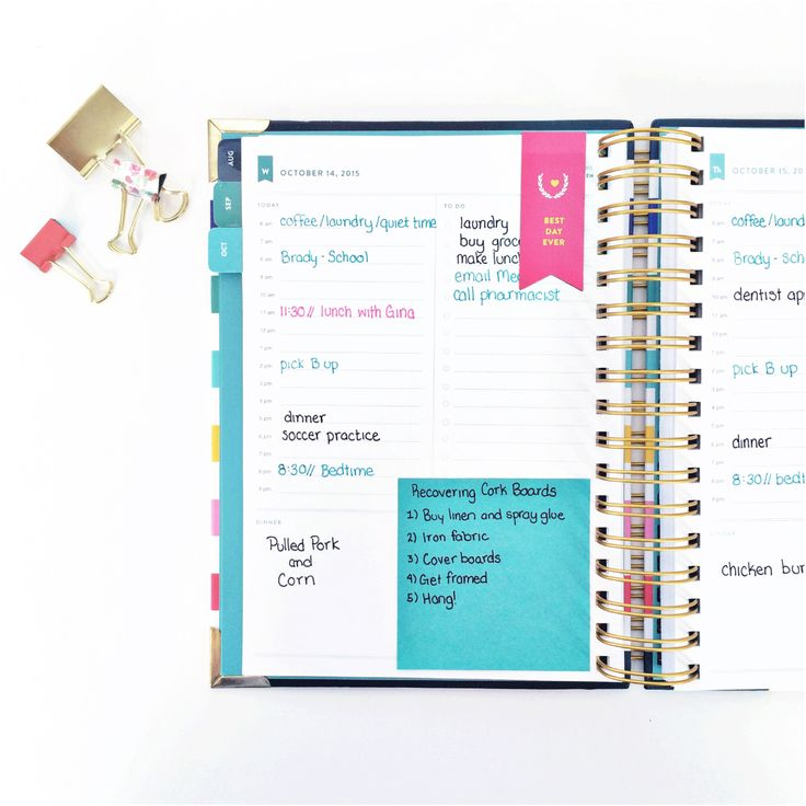 Inside My Simplified Planner: Project Planning   Emily Ley