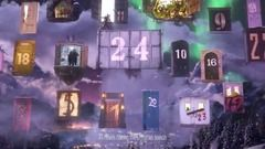 ** 2016 ** This is really rather nice - Sky Cinema have integrated movies with a fantastic Advent Calendar. (H/T Dimitri van den Engel)