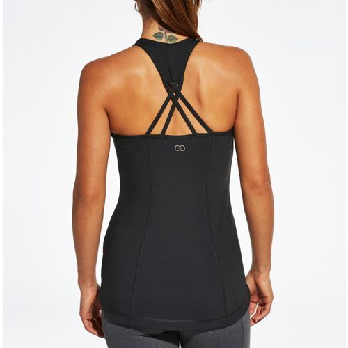 Supportive and stylish, the CALIA™ by Carrie Underwood Women's Support Strap Back Double Layer Tank Top is your perfect top. Performance qualities ensure moisture-wicking and antimicrobial protection, while removable cups allow control of your fit. Mesh pieces boost breathability, and the high neck cut lends coverage. Complete with an intricate strap design, the CALIA™ Support Strap Back Double Layer Tank Top helps you standout wherever you go.