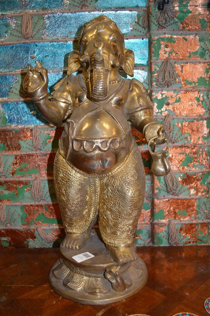 Bronze statue of Ganesh