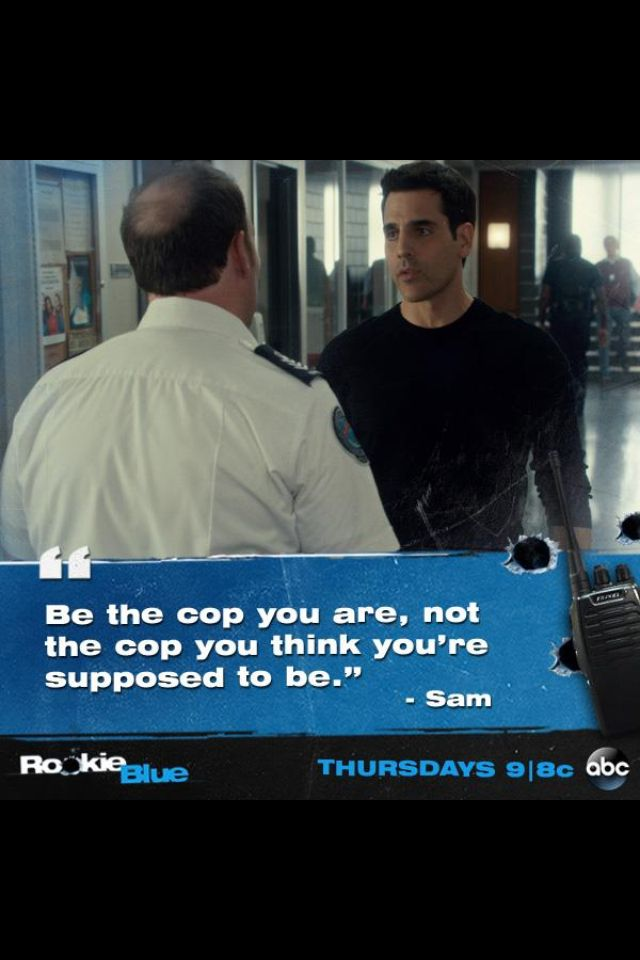 Rookie Blue. Love their friendship