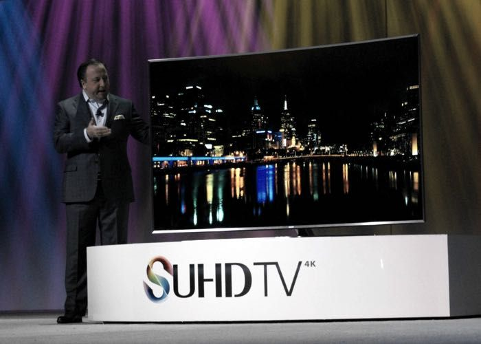 Samsung SUHD TVs Announced At CES - According to Samsung their new SUHD TVs come with a range of new features, including a new re-mastering engine, plus its Smart TV functions are now powered by Tizen. There will be three new series of Samsung SUHD TVs with screen sizes between 48 inches and 88 inches. | Geeky Gadgets