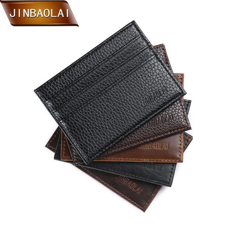 $14.89 $12.89Free Shipping!  – JINBAOLAI Hot Sale Vintage Slim Mini Wallet Artif…