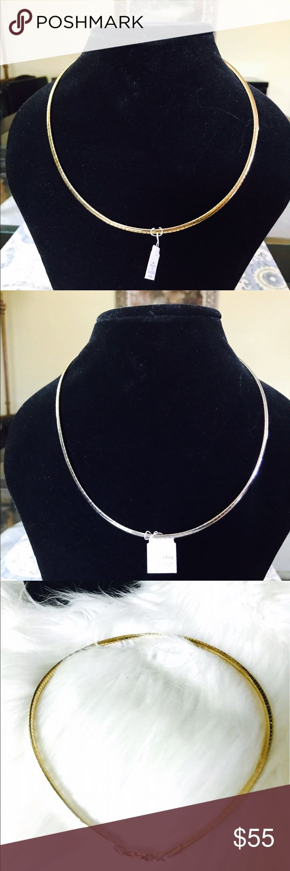 Lia Sophia Two-Toned Choker Necklace Brand new with tag Beautiful Lia Sophia two-toned choker necklace. This necklace has amazing details with secure clasp closure. Perfect accessory for your little black dress. Lia Sophia Jewelry Necklaces
