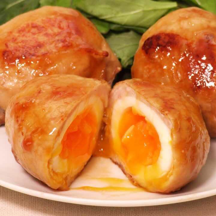 トロッと美味しい!肉巻き半熟卵 #delishkitchentv