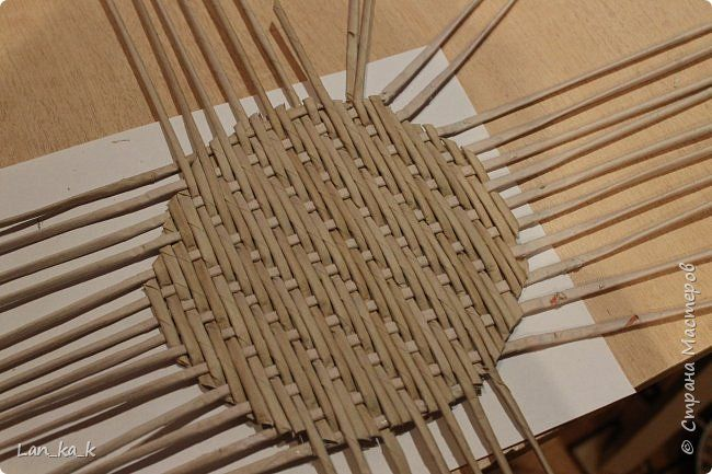 Поделка изделие Плетение И снова кухня Бумага газетная Трубочки бумажные фото 25