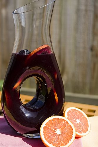 Red Wine Sangria a la Bobby Flay