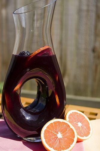 Red Wine Sangria a la Bobby Flay