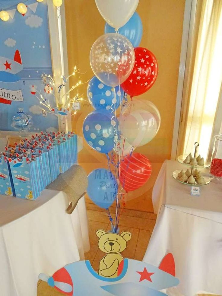 339 best airplane party ideas images on pinterest for Airplane party decoration