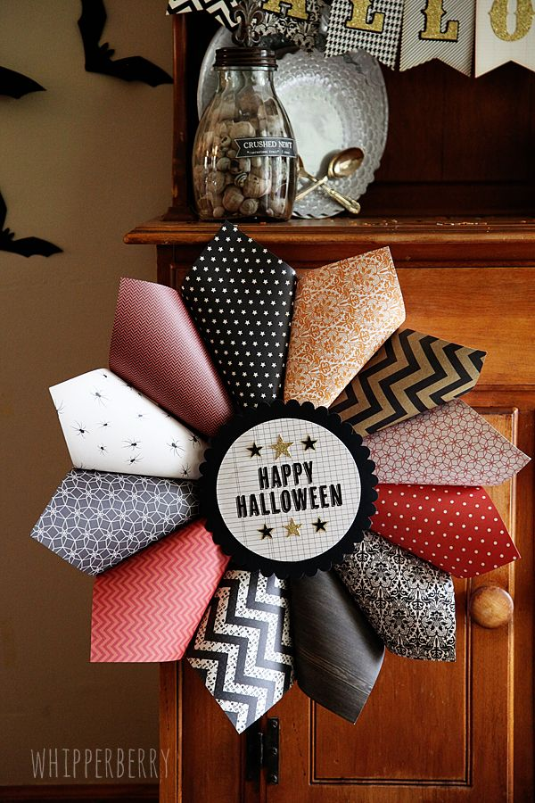 Whipperberry Halloween Decorations With American Crafts
