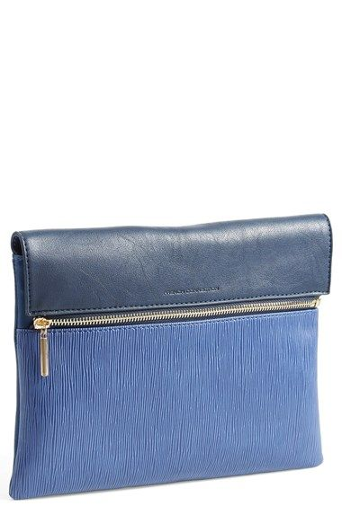 Free shipping and returns on French Connection 'Celestial' Clutch at Nordstrom.com. An optional shoulder strap lends day-to-night ease to a streamlined clutch done up in a duo of tones and textures.