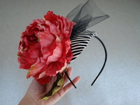 How to make your own fascinator wedding hat.