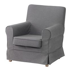 I think this would fit my chair perfectly!! EKTORP JENNYLUND Chair cover, Nordvalla gray - Nordvalla gray - IKEA
