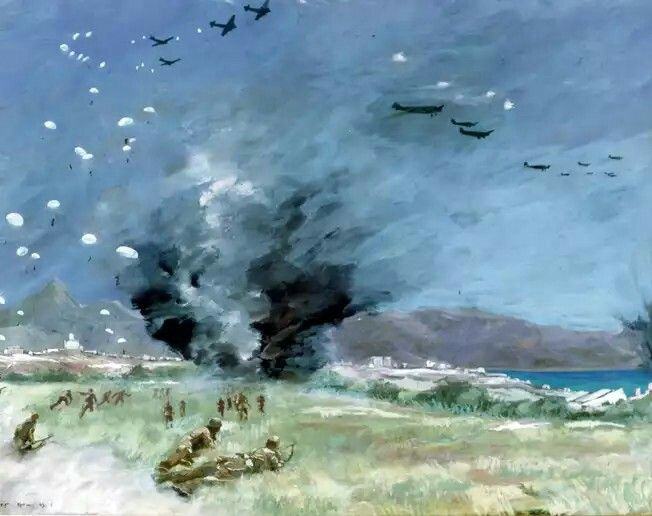 Battle of Crete WWII, pin by Paolo Marzioli
