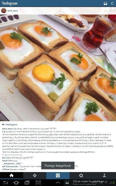 Alintidir yuvada yumurta 1-bence sucuk vs ne koyacaksan onden sotele, koy, , yumurtayikir oyle firinla.2kez firinlama cok sert yapabilir ekmegi.kraya kasarda koy.-