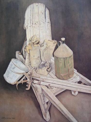 Jopie Huisman-De steenkruiwagen van C
