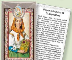 Prayer Card to St.Dymphna.