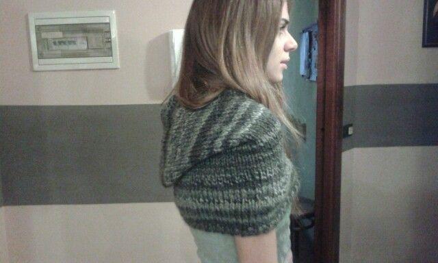 Copri spalle con cappuccio