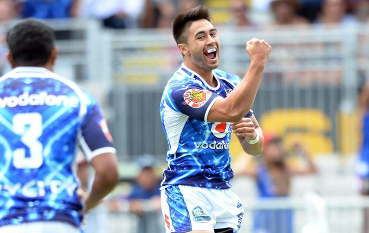 Shaun Johnson...Warriors had an awesome start to the NRL Nines...Beating Raiders 25-14