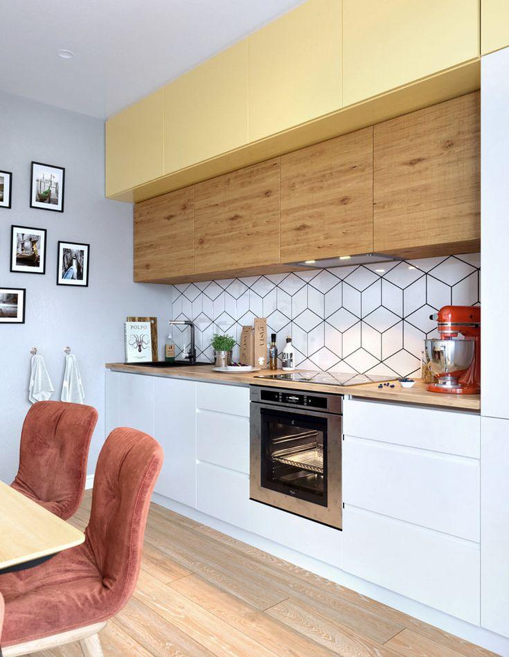 Proiect de amenajare tineresc pentru un apartament de 65 m² din St. Petersburg Jurnal de design interior