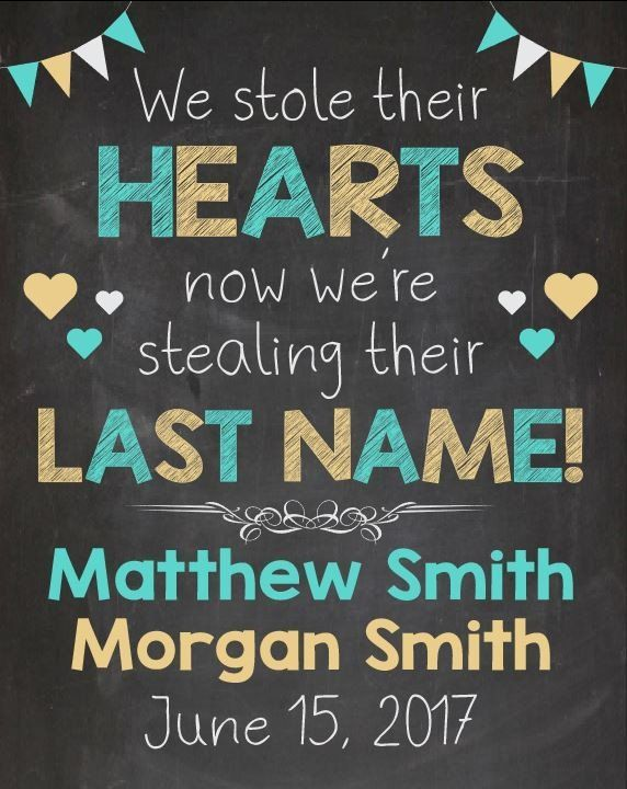 Adoption Announcement sign i stole their hearts now stealing last name adopt photo custom personalized adoption day Chalkboard poster