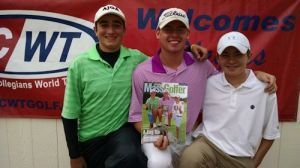 Round One Recap Complete Leaderboard  Christian Cavaliere of Katonah, NY (2016) lit up the course today at the FCWT Junior Golf Tournament at Newport National. Christian, 16, made four conse...