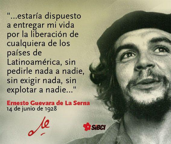 Un poema y una canción a Ernesto Guevara, el Che en su 87 cumpleaños
