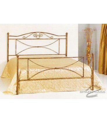#letto in #ferrobattuto, modello Katya. Disponibile in 21 finiture, scegli quella che meglio si addice al tuo #arredamento.