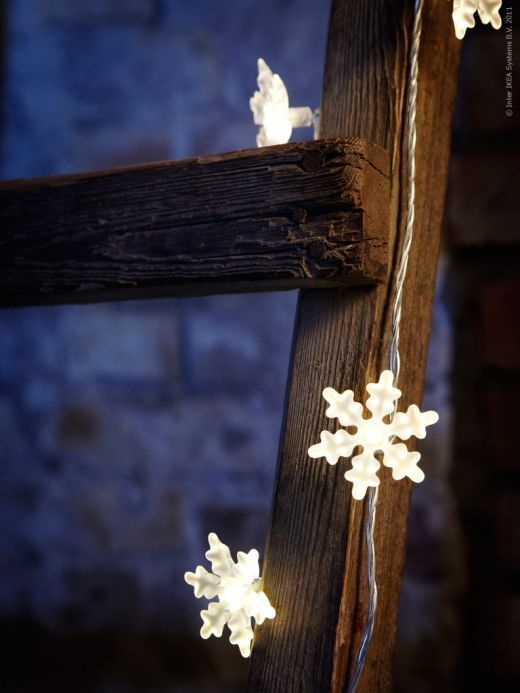 Ikea Snowflake Christmas Lights.