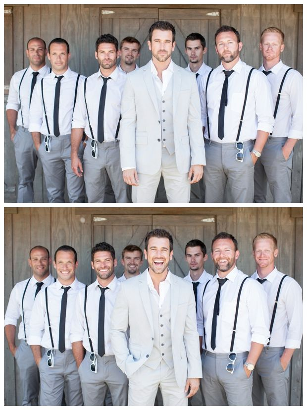 Bride and Chic | Modern Wedding Ideas By Leading UK Wedding Blog // super stylish groomsmen
