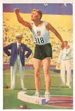 JANIS DIMSA LATVIA Decathlon USA LOS ANGELES JEUX OLYMPIQUES 1932 OLYMPIC GAMES