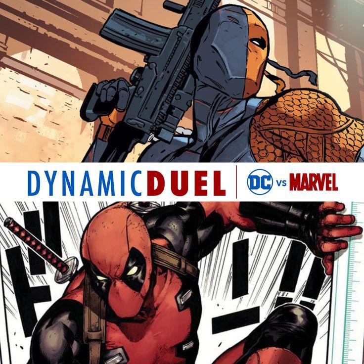 Deathstroke vs. Deadpool