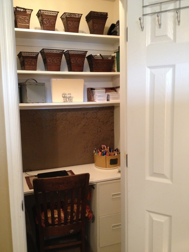 New office closet project complete. Now I guess I have no choice but to go to work!