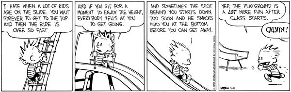 Calvin and Hobbes Comic Strip May 06 2015 on GoComics.com