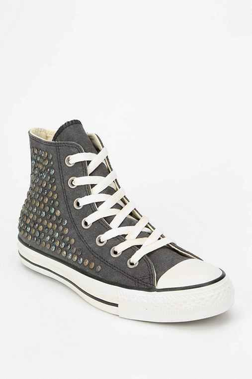 Converse X UO Hammered Stud Womens High-Top Sneaker - Urban Outfitters