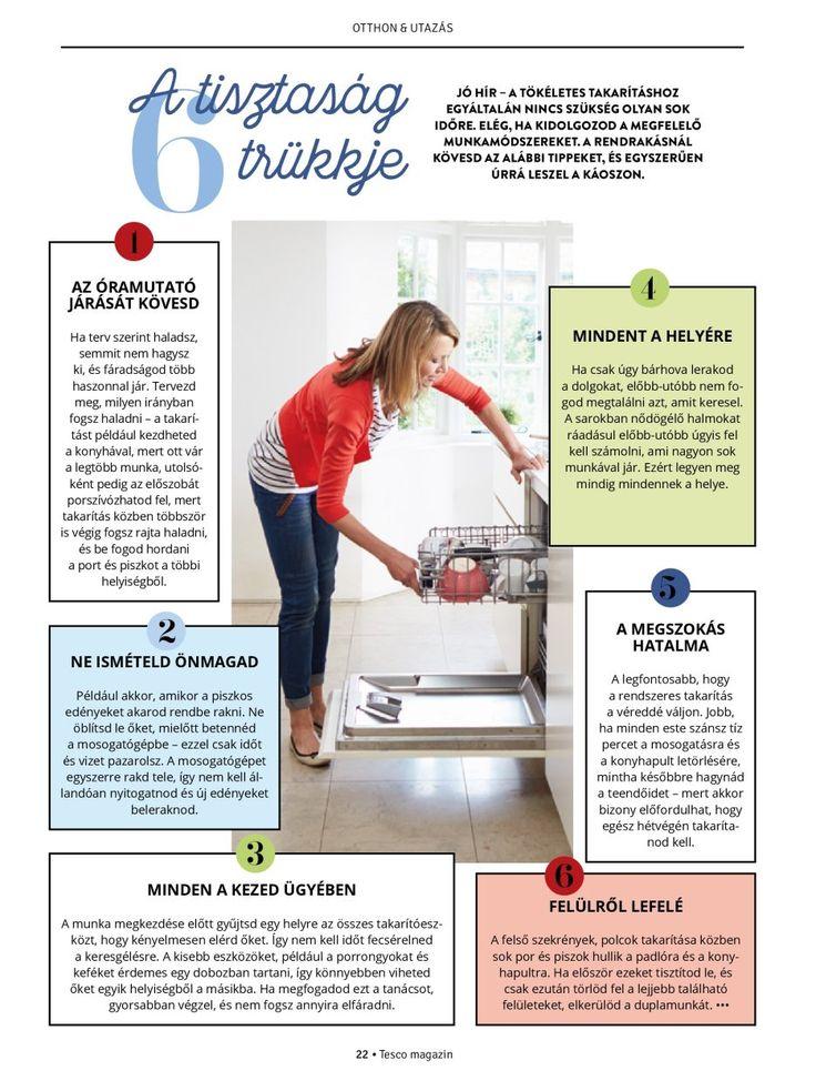 A tisztaság 6 trükkje #otthon #tiszta #takarítás #praktika #trükk #egészség #tescomagyarorszag
