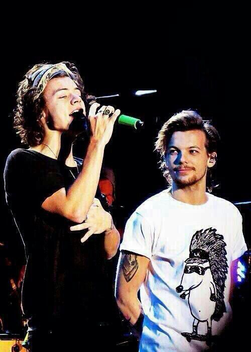 The way Louis stares at Harry is too much for me!