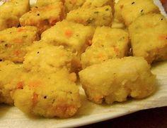 Silken tofu nuggets recipe