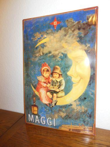 Werbe #Blechschild - #MAGGI - 59 X 39,5 cm - TOP