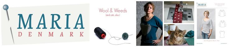 MariaDenmark: Wool and weeds | Thirty something sewing, selling and knitting