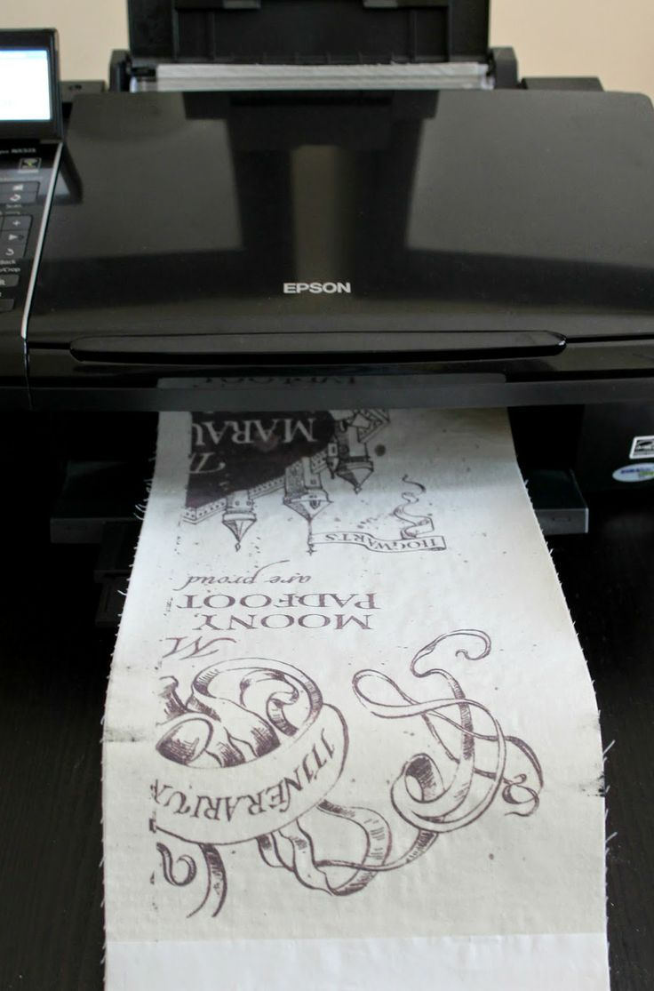 Tutorial: Printing fabric with an ink-jet printer | The Inspired Wren