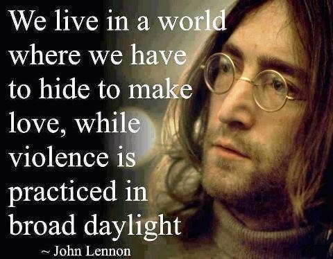 john lennon as an anti war activist All we are saying is give peace a chance -- john lennon despite the moving.