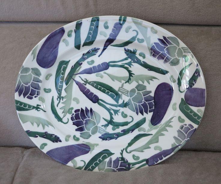 Emma Bridgewater Purple Veg medium platter 2016