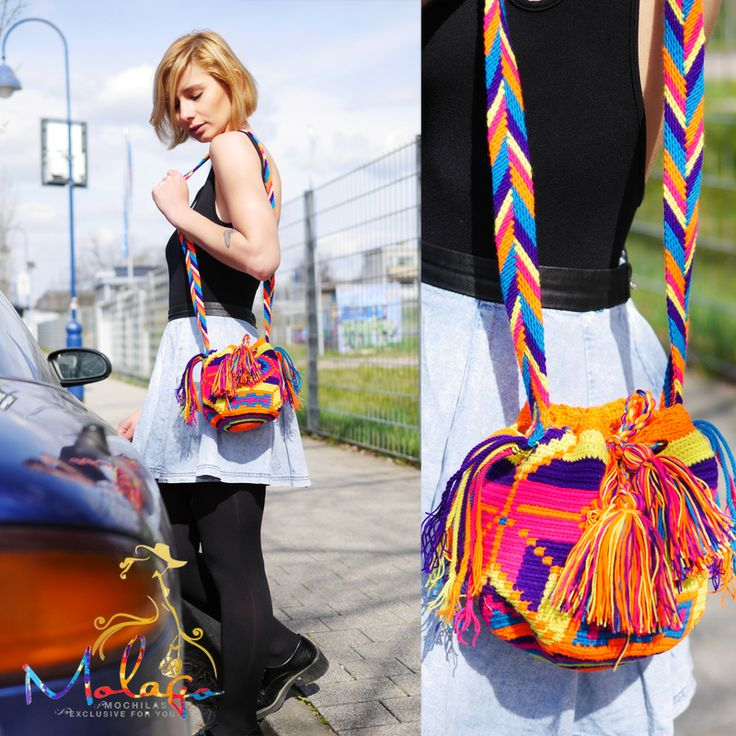 You will love the Wayuu Bags from Molago.de