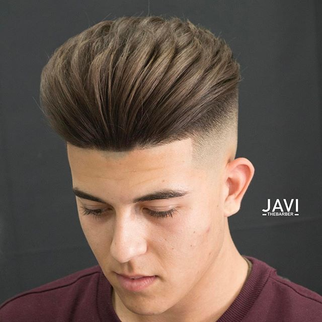 Hairstyle by @javi_thebarber_ #lakme #teamlakme For products visit @lakme_inspired_haircare  Product used in photo: body shaper, Master Lak & texture putty.  Clippers @wahlspain #legend & #hero