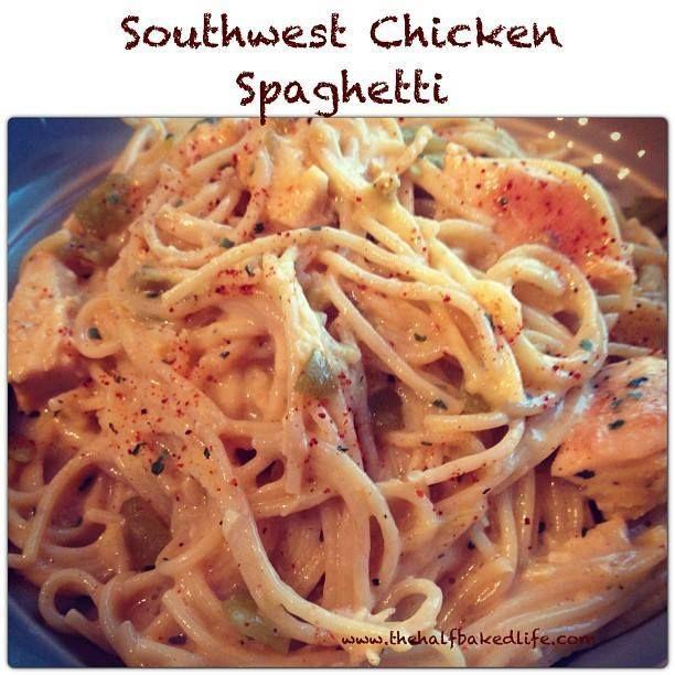 Southwest Chicken Spaghetti