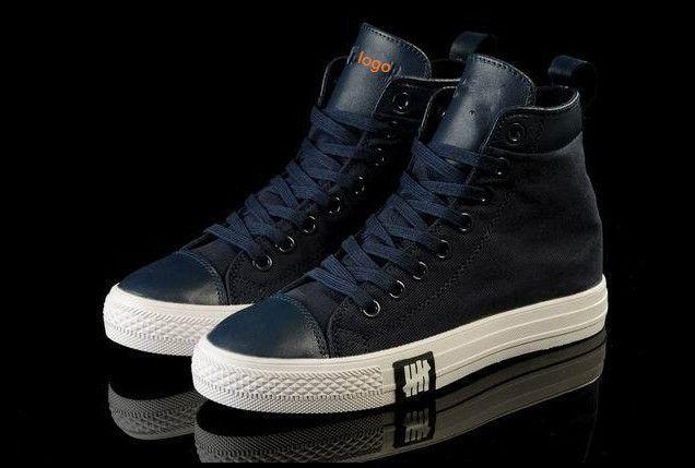 Barato 2014 , o novo médio respirável Pu todo marca Star High / Low Top sapatos tênis de lona para homens / mulheres da sapatilha Eur tamanho 35 43, Compro Qualidade Tênis Estilosos diretamente de fornecedores da China: